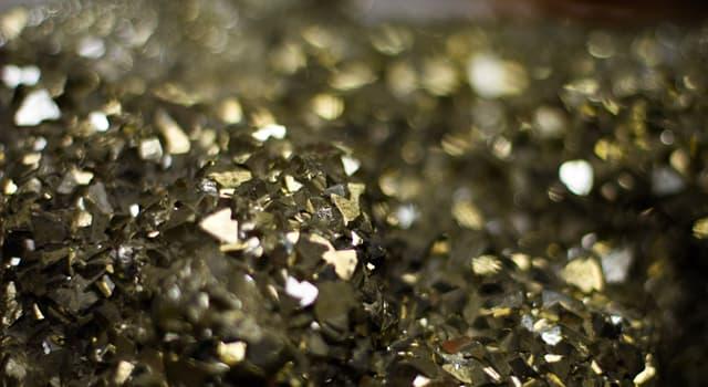 Історія Запитання-цікавинка: Який мінерал за часів золотих лихоманок через зовнішньої схожості з золотом отримав прізвисько «золото дурнів»?