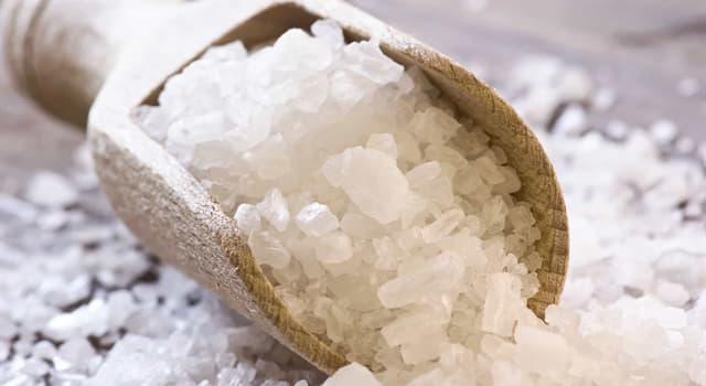 Сiencia Pregunta Trivia: ¿Cuál de los siguientes minerales es la principal fuente de sal?