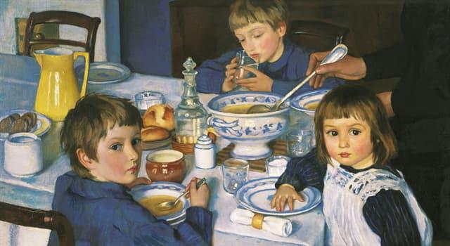 """Культура Запитання-цікавинка: Хто є автором картини """"За сніданком"""", зображеної перед вами?"""