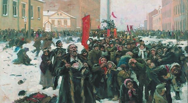 Історія Запитання-цікавинка: В який період пройшла Перша російська революція?