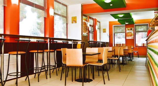 Gesellschaft Wissensfrage: Welche Restaurantkette bedient die meisten Menschen pro Jahr?