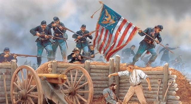 Geschichte Wissensfrage: Wer hat den Amerikanischen Bürgerkrieg (Sezessionskrieg) gewonnen?