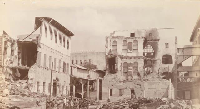 Geschichte Wissensfrage: Britisch-Sansibarischer Krieg gilt als der kürzeste Krieg aller Zeiten, wie lange dauerte er?