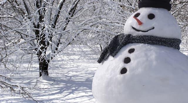 Kultur Wissensfrage: In welchem Land wird ein Schneemann aus zwei Kugeln gebaut?