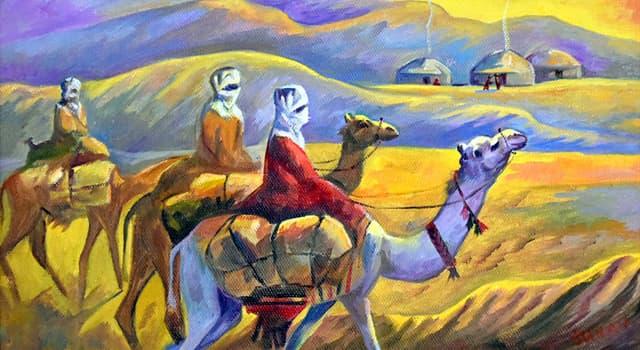Історія Запитання-цікавинка: Як називалася караванна дорога, що з'єднувала Східну Азію із Середземномор'ям в давнину і в середні віки?