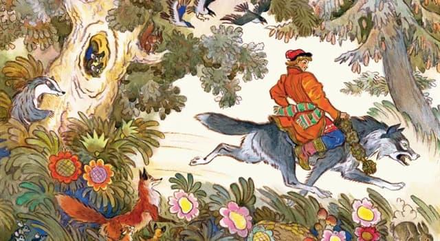Культура Запитання-цікавинка: Якому з персонажів російських казок батькові дісталося від литовського князя Патрикея?