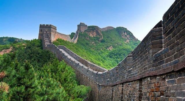 Історія Запитання-цікавинка: Хто будував Велику Китайську стіну?