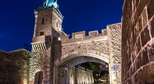 Geografia Pytanie-Ciekawostka: Jak nazywa się otoczone murem miasto w Kanadzie, które wpisano na Listę Światowego Dziedzictwa?