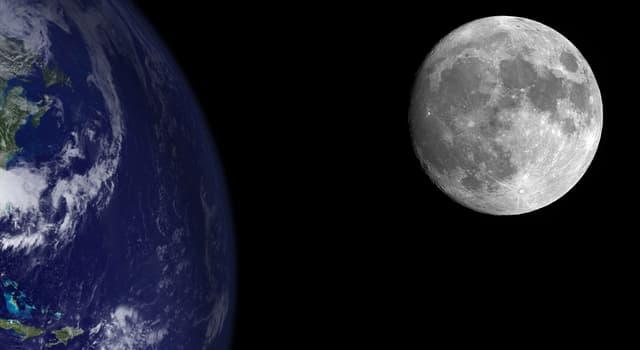 Wissenschaft Wissensfrage: Mit welcher Geschwindigkeit entfernt sich der Mond von der Erde?