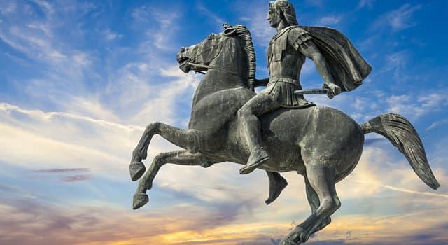 Kultur Wissensfrage: Welchen Namen hatte das Lieblingspferd Alexanders des Großen?