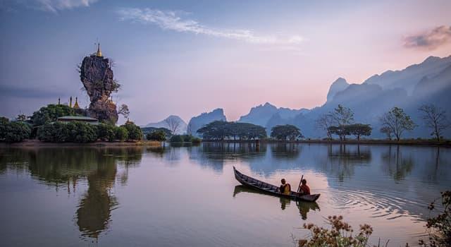 Geschichte Wissensfrage: Welches Land trug früher den Namen Birma?
