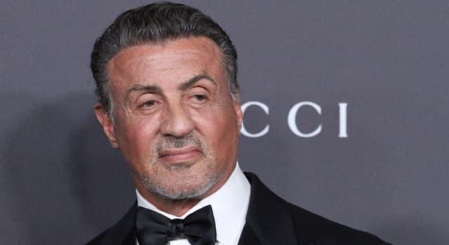 Kultura Pytanie-Ciekawostka: Jak ma na pierwsze imię Sylvester Stallone?