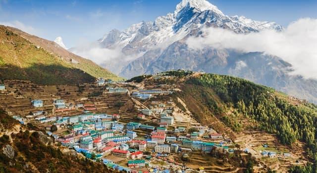 Geografia Pytanie-Ciekawostka: Co jest stolicą Nepalu?