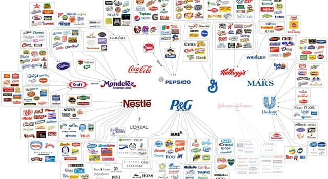 społeczeństwo Pytanie-Ciekawostka: Która z poniższych firm jest największa na świecie od 2014 roku z uwagi m. in. na przychody?