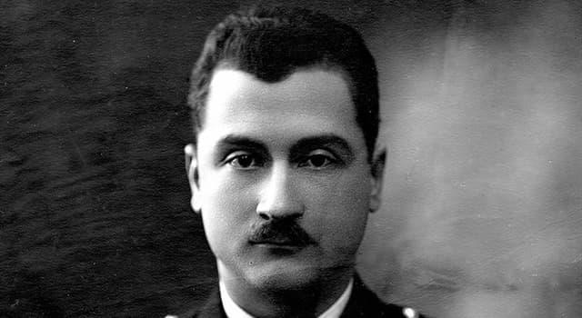 Geschichte Wissensfrage: Wer wurde 1913 zur ersten Person, die das Mittelmeer im Flugzeug überquerte?
