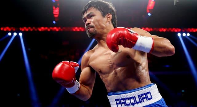 Sport Wissensfrage: Wer war der erste Boxer, der Manny Pacquiao besiegte?