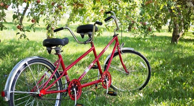 Sport Wissensfrage: Wie heißt das Fahrrad, das für zwei oder mehr Personen Platz bietet?