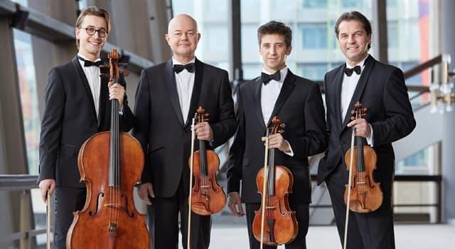 Kultur Wissensfrage: Wie heißt eine Musikgruppe aus 4 Personen?
