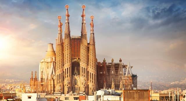 Kultur Wissensfrage: Wo befindet sich Sagrada Família?