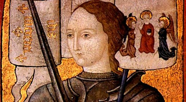 Geschichte Wissensfrage: Jeanne d'Arc ist die Nationalheldin von ...