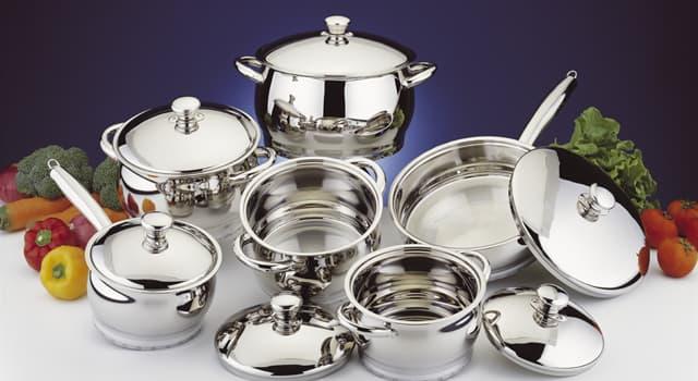 Наука Запитання-цікавинка: Яка посуд не шкодить здоров'ю людини?