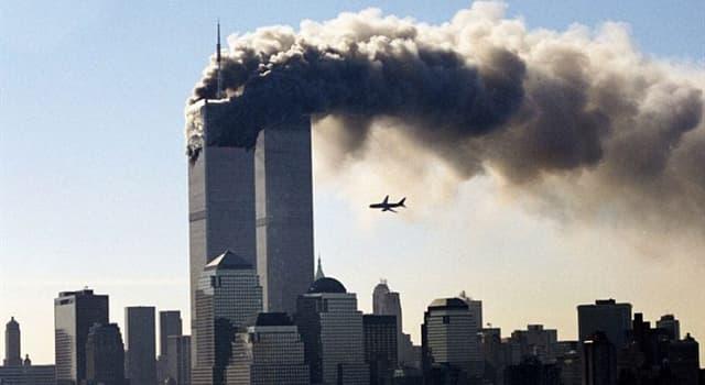 Історія Запитання-цікавинка: Коли стався теракт в США (вежі-близнюки)?