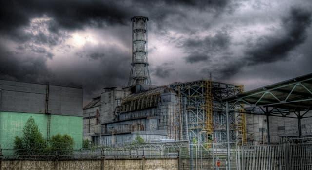 Geschichte Wissensfrage: Wann ereignete sich die Nuklearkatastrophe von Tschernobyl?