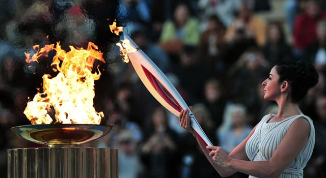 Geschichte Wissensfrage: Wann wurde der olympische Fackellauf eingeführt?