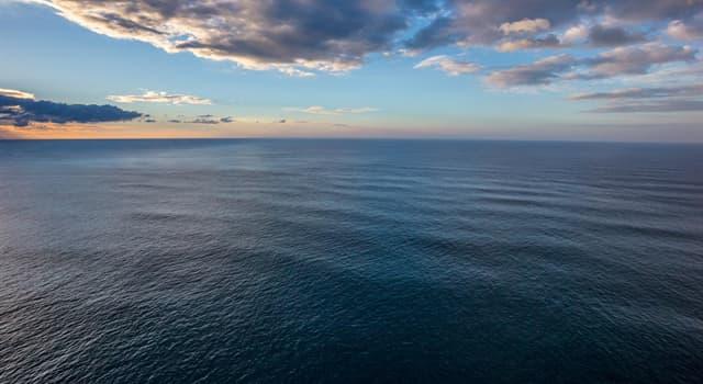 Geographie Wissensfrage: Welcher Ozean ist der größte der Erde?