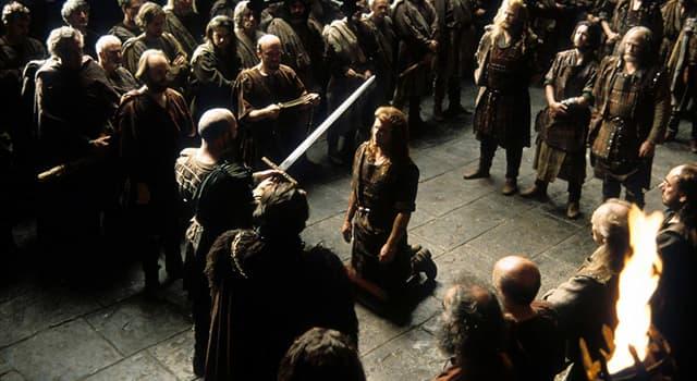 """Film & Fernsehen Wissensfrage: Wer hatte die Hauptrolle als William Wallace im Film """"Braveheart""""?"""