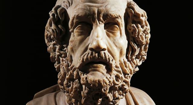 Kultur Wissensfrage: Wer ist Homer?
