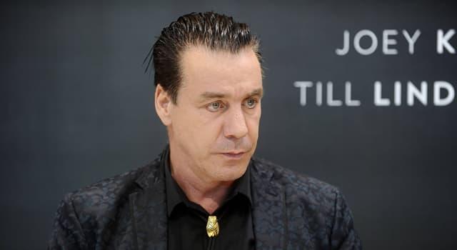 Gesellschaft Wissensfrage: Wer ist Till Lindemann?