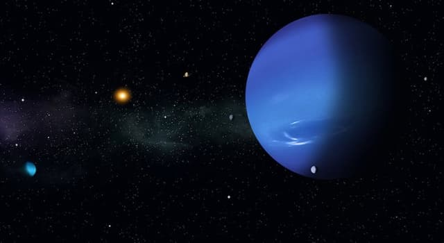 nauka Pytanie-Ciekawostka: Co daje Uranowi jego niebiesko-zielony kolor?