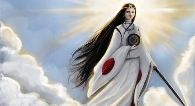 Kultur Wissensfrage: Wie heißt die Göttin der Sonne in der japanischen Mythologie?