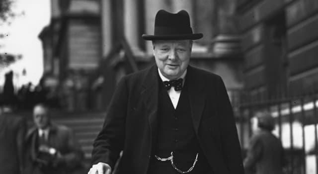 Geschichte Wissensfrage: Winston Churchill erhielt 1953 den Nobelpreis für...