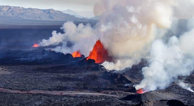 Geographie Wissensfrage: Wo befindet sich der Vulkan Bárðarbunga?