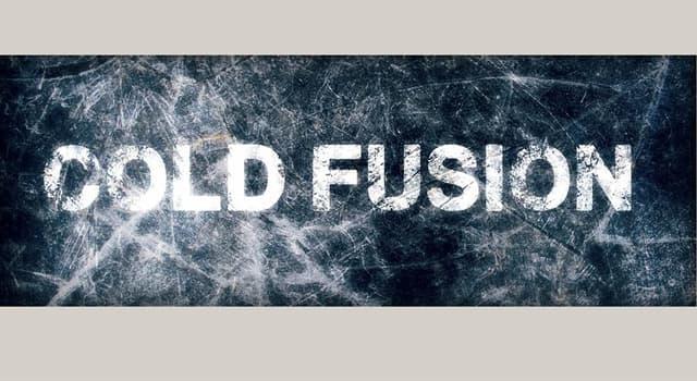 """nauka Pytanie-Ciekawostka: Czym jest """"zimna fuzja""""?"""
