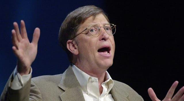 społeczeństwo Pytanie-Ciekawostka: Jaka firma została założona przez Billa Gatesa?