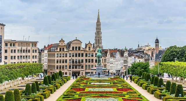 Geografia Pytanie-Ciekawostka: Jaka jest stolica Belgii?