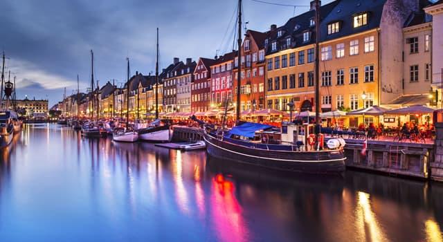 Geografia Pytanie-Ciekawostka: Co jest stolicą Danii?