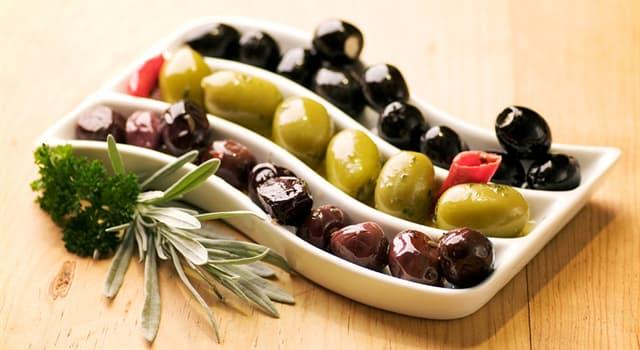 Geografia Pytanie-Ciekawostka: Jaki region wytwarza około 95% światowych oliwek?