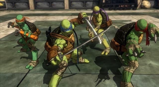 Filmy Pytanie-Ciekawostka: Jakie jest ulubione jedzenie Wojowniczych Żółwi Ninja?