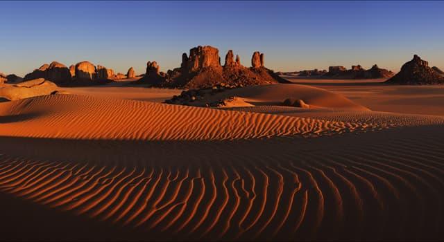 Natur Wissensfrage: Stimmt es, dass es in der Wüste Sahara niemals schneite?
