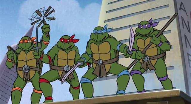 Film & Fernsehen Wissensfrage: Was ist das Lieblingsessen der Teenage Mutant Ninja Turtles?