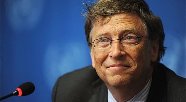 Gesellschaft Wissensfrage: Welches Unternehmen wurde von Bill Gates gegründet?