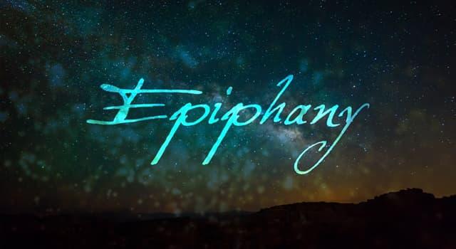 Cultura Pregunta Trivia: ¿Cuál de las principales religiones celebra un día de fiesta llamado Epifanía?
