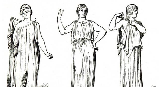 Kultur Wissensfrage: Wie hieß die Kleidung von Männern und Frauen im antiken Griechenland?