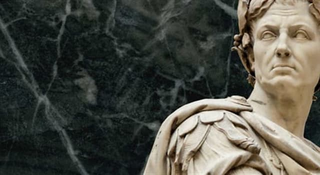 """Geschichte Wissensfrage: Wie lautet die Fortsetzung des bekannten Spruchs von Julius Cäsar: """"ich kam, ich sah, ...""""?"""