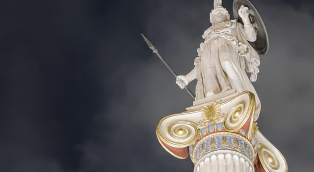 Kultur Wissensfrage: Athene war die Göttin des ... Krieges.
