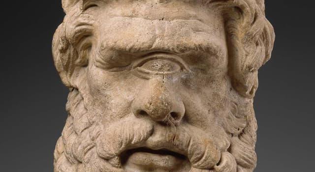 Kultur Wissensfrage: Wessen Kinder waren Kyklopen in der griechischen Mythologie?